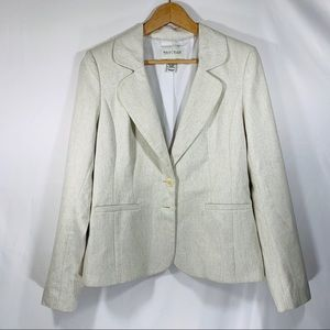 White House Black Market shimmering blazer